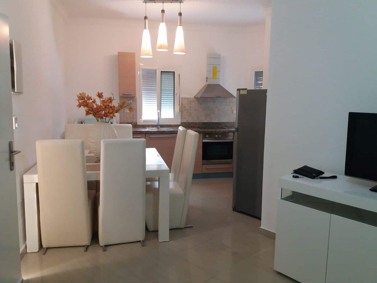 cocotal condo for rent dining room and kitchen