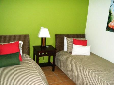 two beds bedroom in palma real condo for rent