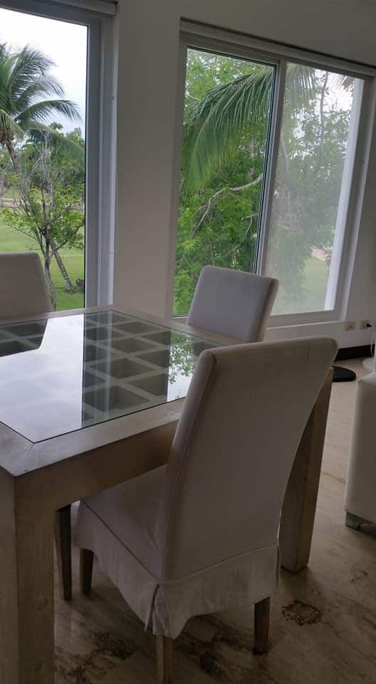 cocotal condo for rent dining room