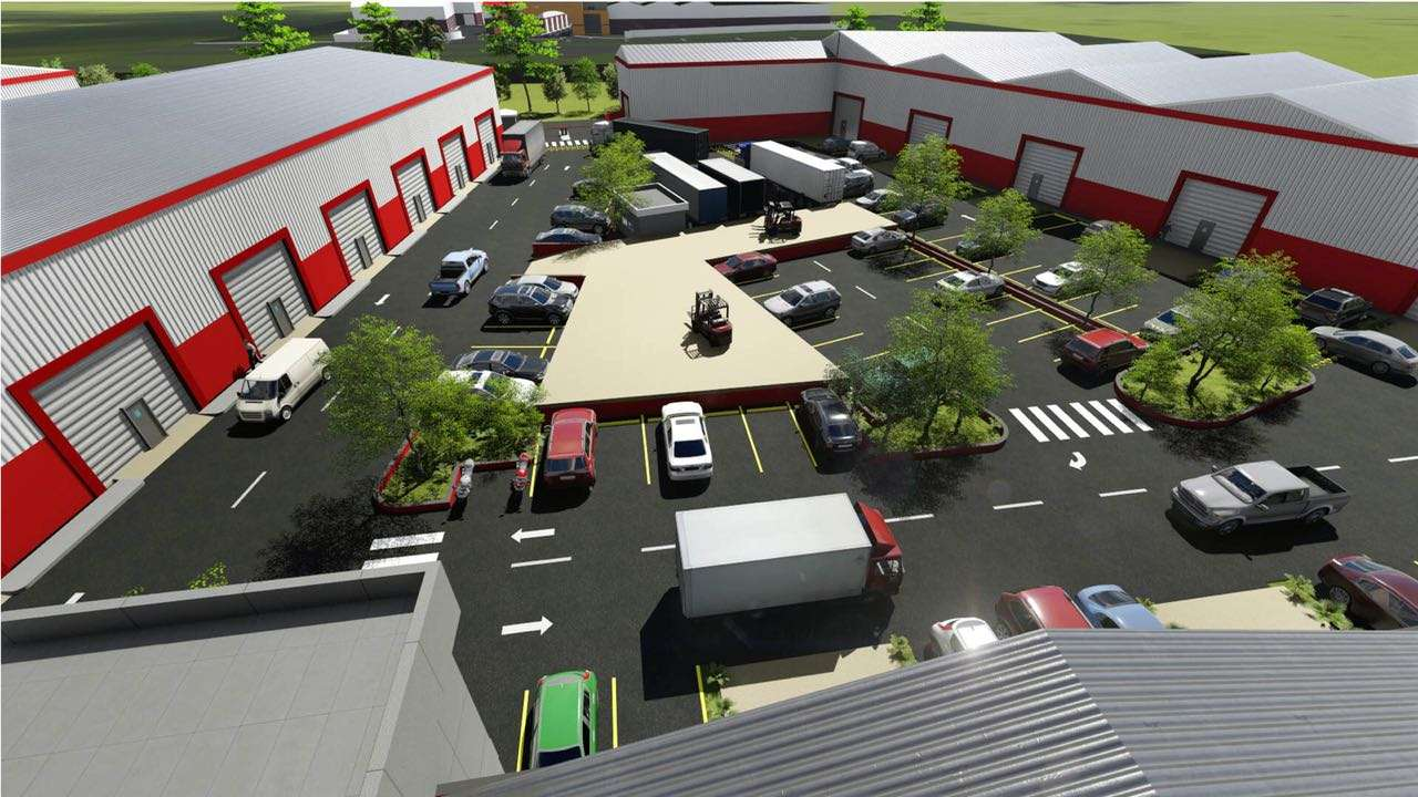 punta cana commercial warehouses master plan