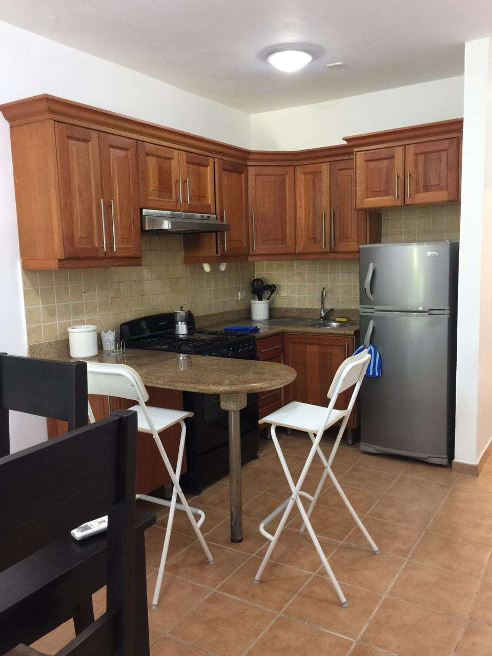 cocotal condo for rent kitchen and dining room
