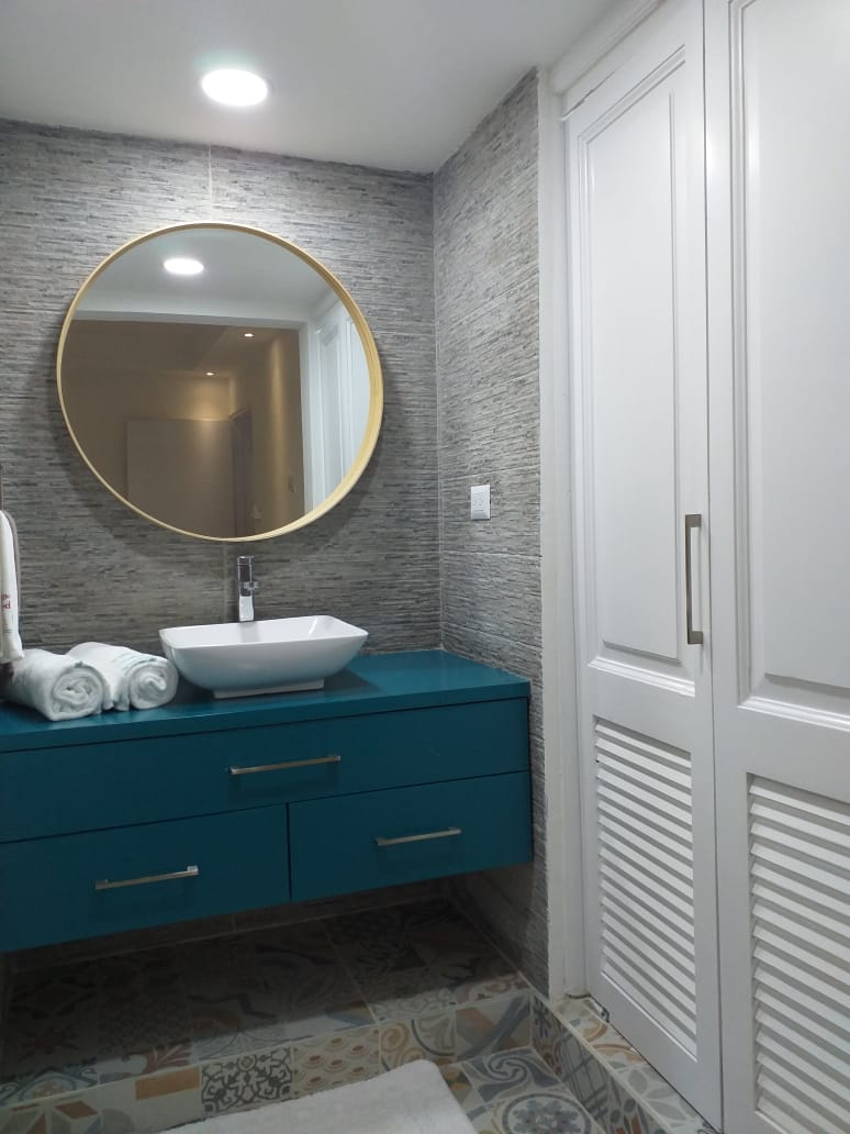 cap cana condo bathroom
