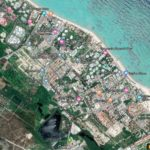 punta cana lot satellital view